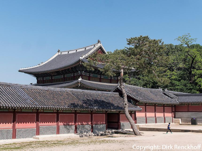 König-Residenz im Changdeokgung Palast, Seoul, Südkorea, Asien, UNESCO-Weltkulturerbe<br /> kings residence in palace Changdeokgung,  Seoul, South Korea, Asia UNESCO world-heritage