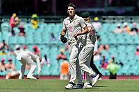 9th January 2021; Sydney Cricket Ground, Sydney, New South Wales, Australia; International Test Cricket, Third Test Day Three, Australia versus India; Pat Cummins of Australia