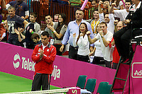 Dejan Vranes Fed Cup Serbia vs Canada, World group II, first round, Novi Sad, Serbia, SPENS Sports Center, Sunday, February 06, 2011. (photo: Srdjan Stevanovic)(credit image & photo: Pedja Milosavljevic / +381 64 1260 959 / thepedja@gmail.com )