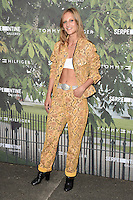 Olympia Campbell<br /> arrives for the Serpentine Gallery Summer Party 2016, Hyde Park, London.<br /> <br /> <br /> ©Ash Knotek  D3138  06/07/2016