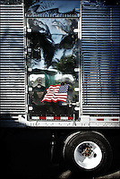 "Truck, detail<br /> From ""Transportation song"" series. Miami, 2009"