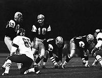Bernie Faloney Hamilton Tiger Cats quarterback 1964. Copyright photograph Scott Grant