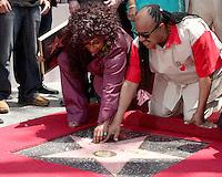 Chaka Kahn Walk of Fame Star Ceremony