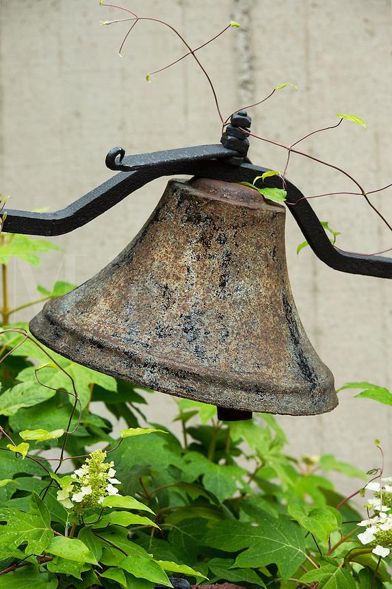 Decorative garden bell.