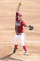 18 May 2007: Stanford Cardinal Missy Penna during Stanford's 3-0 win against the Cal State Northridge Matadors in the 2007 NCAA Softball Regionals at Boyd & Jill Smith Family Stadium in Stanford, CA.