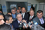 SULAIMANIYAH, IRAQ:  Jalal Talabani, President of Iraq and leader of the Patriotic Union of Kurdistan (PUK) votes in Sulaimaniyah...On March 7th, 2010, Iraq held nationwide parliamentary elections.