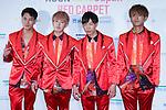 "CODE-V, Apr 10, 2016 : South Korean boy group CODE-V attend ""KCON 2016 JAPAN"" red carpet in Chiba, Japan on April 10, 2016. (Photo by Pasya/AFLO)"