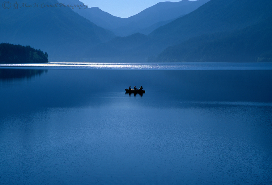 """Escape to Lake Crescent""<br />