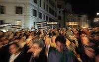 20131016 ROMA-CRONACA: MARCIA SILENZIOSA PER IL 70ESIMO DEL RASTRELLAMENTO DEGLI EBREI