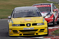 Round 7 of the 2005 British Touring Car Championship. #11. Jason Plato (GBR). SEAT Sport UK. SEAT Toledo.