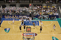 10 March 2008: Stanford Cardinal (L-R) JJ Hones, Jillian Harmon, Jayne Appel, Jeanette Pohlen, and Candice Wiggins during Stanford's 56-35 win against the California Golden Bears in the 2008 State Farm Pac-10 Women's Basketball championship game at HP Pavilion in San Jose, CA.
