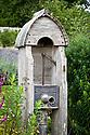 Antique water pump, Parham House.