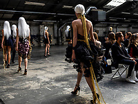 Irene Luft<br /> Spring Summer 2022 Ready-to-Wear catwalk Fashion Show at Paris Fashion Week, France on 04 October 2021<br /> CAP/GOL<br /> ©GOL/Capital Pictures