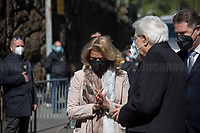 Sergio Mattarella, President of the Italian Republic and Noemi Di Segni, President of the United Italian Jewish Communities. <br />