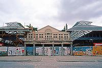 London: Covent Garden Market, undergoing restoration, 1979.
