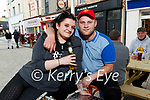 Pictured at An Chearnóg, Tralee on Monday were Michaela Nolan and Martin Burke (Tralee )
