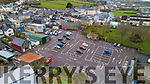 The main car park in Cahersiveen on Wednesday.
