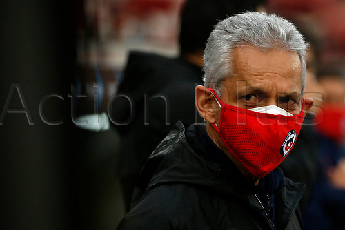 13th November 2020; National Stadium of Santiago, Santiago, Chile; World Cup 2020 Football qualification, Chile versus Peru;  Chile manager Reinaldo Rueda