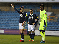 Tom Bradshaw of Millwall give the thumbs up during Millwall vs Nottingham Forest, Sky Bet EFL Championship Football at The Den on 19th December 2020