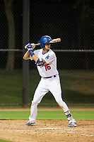 AZL Dodgers third baseman Preston Grand Pre (16) at bat against the AZL Indians on July 20, 2017 at Camelback Ranch in Glendale, Arizona. AZL Dodgers defeated the AZL Indians 10-9. (Zachary Lucy/Four Seam Images)
