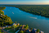 Lake LBJ is one of the most popular lakes for water skiing and boating in the Highland Lakes chain in the heart of the Texas Hill Country.