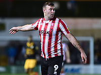 Lincoln City's Matt Rhead<br /> <br /> Photographer Andrew Vaughan/CameraSport<br /> <br /> The EFL Sky Bet League Two - Lincoln City v Newport County - Saturday 22nd December 201 - Sincil Bank - Lincoln<br /> <br /> World Copyright © 2018 CameraSport. All rights reserved. 43 Linden Ave. Countesthorpe. Leicester. England. LE8 5PG - Tel: +44 (0) 116 277 4147 - admin@camerasport.com - www.camerasport.com