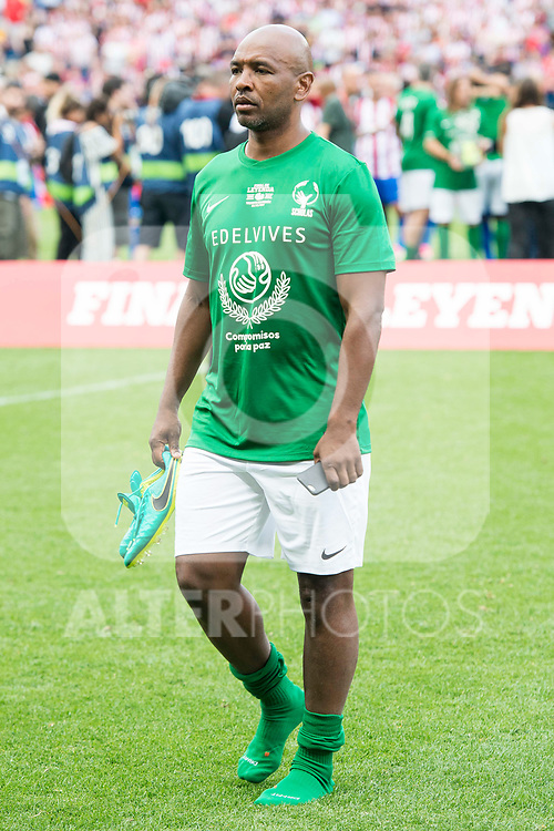 World Legend's Marcos Senna during friendly match to farewell  to Vicente Calderon Stadium in Madrid, May 28, 2017. Spain.<br /> (ALTERPHOTOS/BorjaB.Hojas)