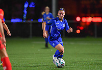 Fleur Pauwels of Racing Genk pictured during a female soccer game between  Racing Genk Ladies and White Star Woluwe on the seventh matchday of the 2020 - 2021 season of Belgian Scooore Womens Super League , friday 13 th of November 2020  in Genk , Belgium . PHOTO SPORTPIX.BE | SPP | DAVID CATRY