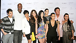 """The Odom, Kardashian and Jenner Clan at The Fragrance Launch event for """"Unbreakable by Khloe + Lamar"""" held at The Redbury Hotel in Hollywood, California on April 04,2011                                                                               © 2010 Hollywood Press Agency"""