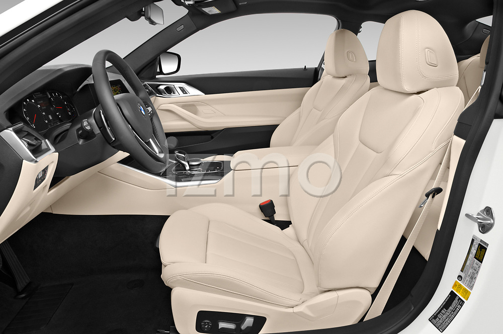Front seat view of a 2021 BMW 4 Series Coupe 430i 2 Door Coupe