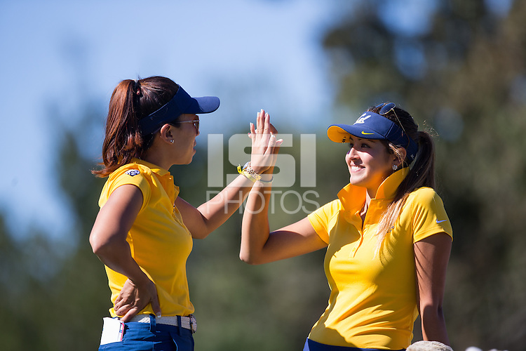 Stanford, CA - October 20, 2015: Cal Women's Golf during the Stanford Intercollegiate.