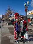 The Foster family during the Sparks Hometowne Christmas Parade on Saturday, Dec. 1, 2018.