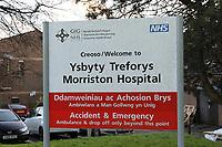2017 12 07 Morriston Hospital, Swansea, Wales, UK