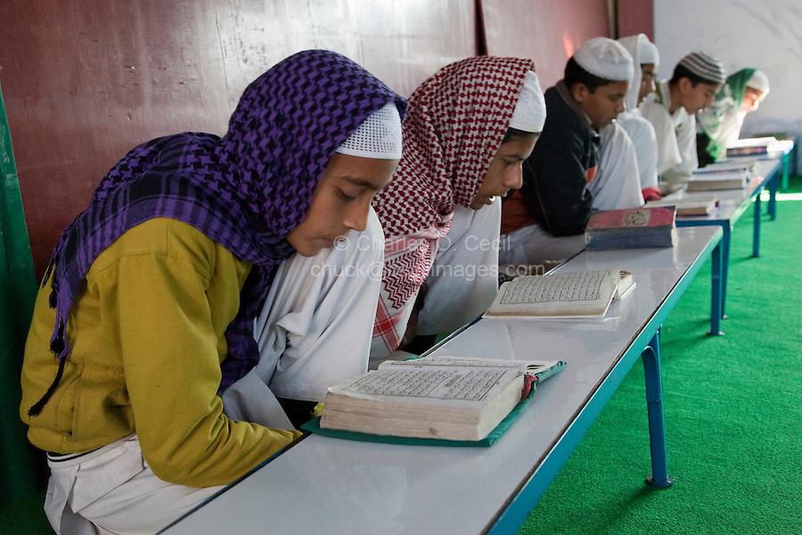 Madrasa Students, Madrasa Islamia Arabia Izharul-Uloom, Dehradun, India.
