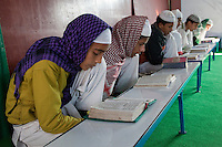 Madrasa Students, Madrasa Islamia Arabia Izharul-Uloom, Dehradun, India.