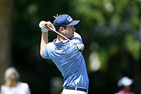 4th September 2020, Atlanta GA, USA;  Harris English hits his second tee shot on the first hole during the first round of the TOUR Championship  at the East Lake Golf Club in Atlanta, GA.