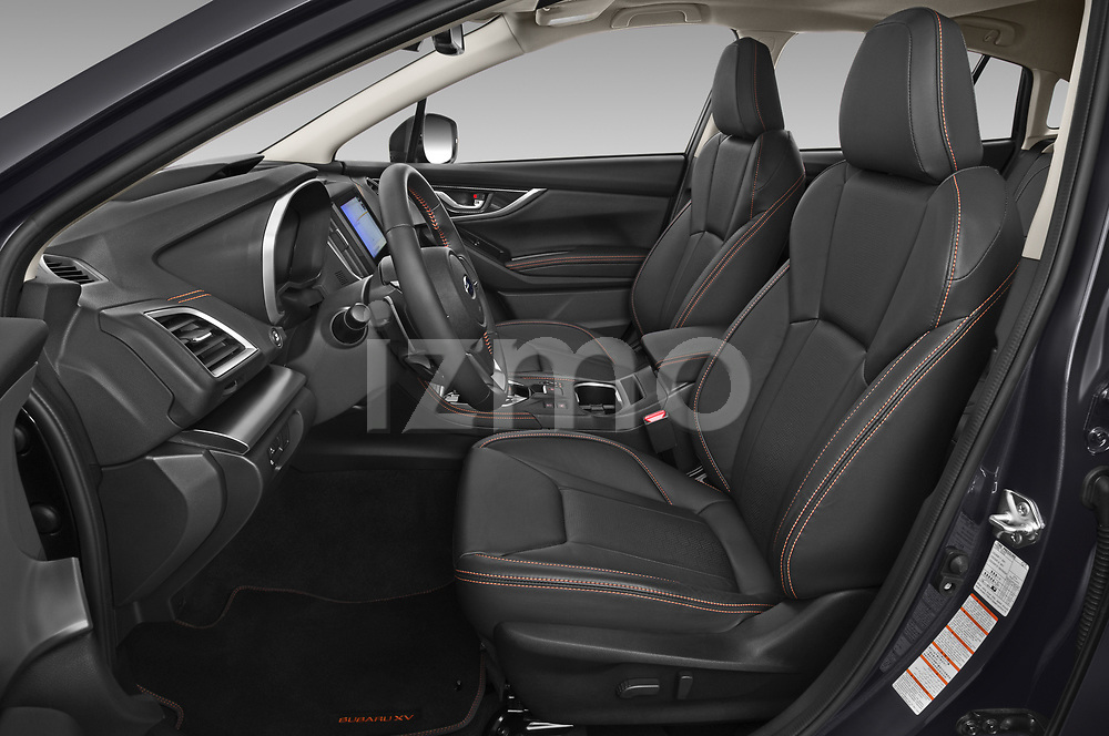 Front seat view of 2020 Subaru XV-boxer Premium 5 Door SUV Front Seat  car photos