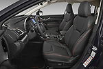 Front seat view of 2020 Subaru XV-boxer Premium 5 Door SUV Front Seat  car photos