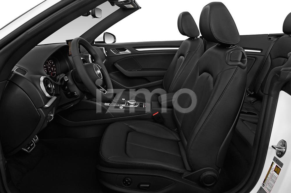 Front seat view of a 2018 Audi A3 Premium 2 Door Convertible front seat car photos