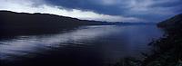 Europe/Grande-Bretagne/Ecosse/Highland/Le Loch Ness : Vu depuis Urquhart Castel