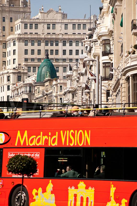 Madrid Vision city tour bus, Madrid, Spain