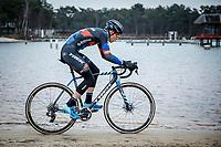 Thibau Nys (BEL/Baloise Trek Lions)<br /> <br /> Elite Men's Race<br /> Zilvermeercross Mol (BEL) 2021<br /> <br /> ©Kramon