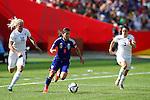 Nahomi Kawasumi (JPN), JULY 1, 2015 - Football / Soccer : FIFA Women's World Cup Canada 2015 Semi-final match between Japan 2-1 England at Commonwealth Stadium in Edmonton, Canada. (Photo by AFLO)