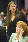 Actress Camryn Manheim and Kathie Griffen