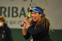 6th October 2020, Roland Garros, Paris, France; French Open tennis, Roland Garros 2020; Collins - USA