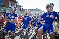 Nacer Bouhanni (FRA) & friends<br /> <br /> GP Le Samyn 2014