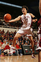 25 February 2006: Cissy Pierce during Stanford's 78-47 win over the Washington State Cougars at Maples Pavilion in Stanford, CA.