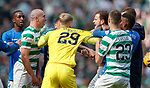 31.03.2019 Celtic v Rangers: Andy Halliday and Scott Brown
