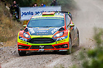 PROKOP Martin / TOMANEK Jan (Ford Fiesta RS WRC) during the World Rally Car RACC Catalunya Costa Dourada 2016 / Rally Spain, in Catalunya, Spain. October 15, 2016. (ALTERPHOTOS/Rodrigo Jimenez)