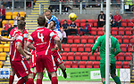 St Johnstone v Stirling Albion…30.07.16  McDiarmid Park. Betfred Cup<br />Steven Anderson scores the first goal<br />Picture by Graeme Hart.<br />Copyright Perthshire Picture Agency<br />Tel: 01738 623350  Mobile: 07990 594431